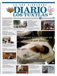 Edición de Diario Los Tuxtlas del día 04 de octubre de 2019