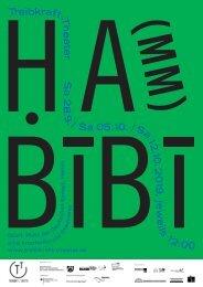 Ha(mm)bibi – Das Poster