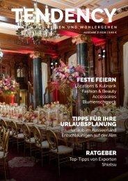TENDENCY Ausgabe 2/2019 – Vorschau