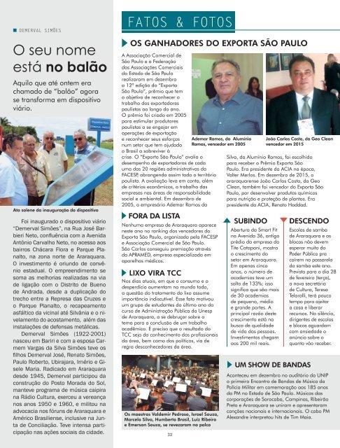 RCIA - ED. 138 - JANEIRO 2017
