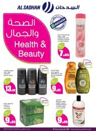 Beauty flyer from 2nd Oct to 8th Oct