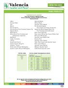 Valencia Lumber and Panel Product Catalog - Page 3