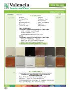 Valencia Lumber and Panel Product Catalog - Page 6