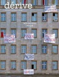 dérive - Zeitschrift für Stadtforschung, Heft 77 (4/2019), Schwerpunkt: Wohnungsfrage