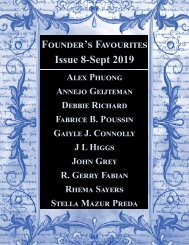 Founder's Favourites 8 - Sep 19