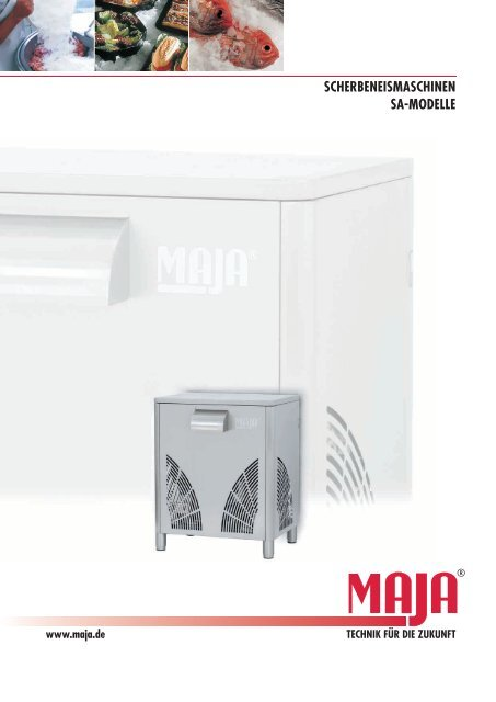 scherbeneismaschinen sa-modelle - Malipac Verpackungen GmbH