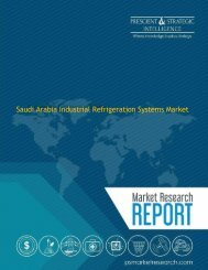 Saudi Arabia Industrial Refrigeration Systems Market to Achieve Significant Growth in the Near Future
