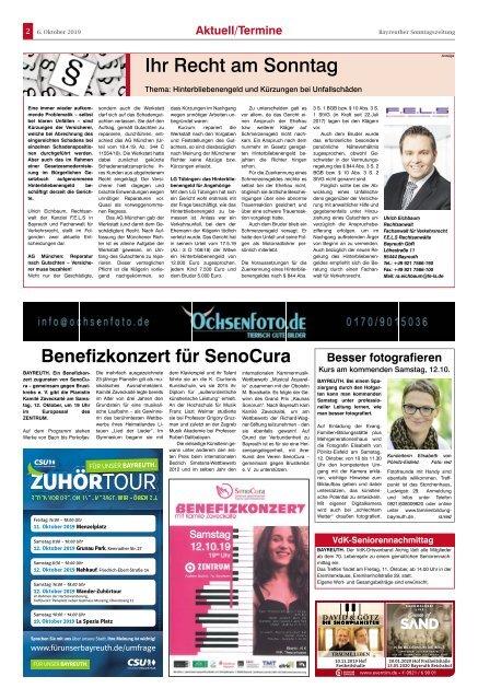 2019-10-06 Bayreuther Sonntagszeitung