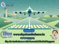 Receive ICU Air Ambulance from Bhopal with Skilful Doctor