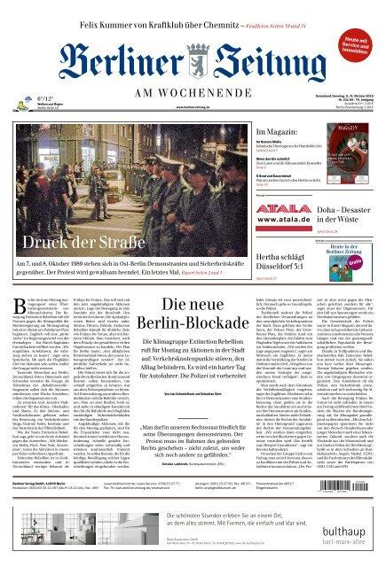 Berliner Zeitung 05.10.2019