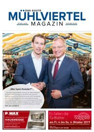 Mühlviertel Magazin Oktober 2019