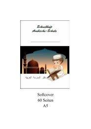 Buchvorschau Schreibheft Arabisch-Schule
