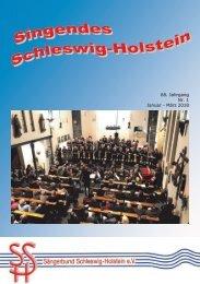 Singendes Schleswig-Holstein 1-2018
