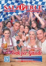 SALZPERLE - Stadtmagazin Schönebeck (Elbe) - Ausgabe 08+09/2019