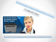 Brother Printer Tech Support Phone Number +1-888-597-3962