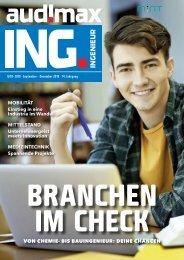 audimax ING. 9/10-2019 - Karrieremagazin für Ingenieure