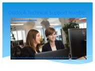 Outlook Technical Support Number