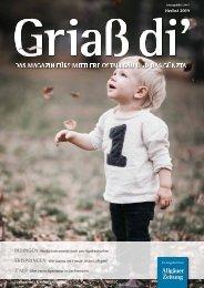 Griaß di' Magazin Herbst 2019