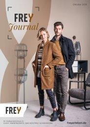 FREY Mode - Frey Journal Oktober 2019 |MAK