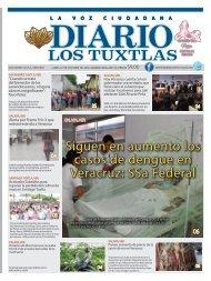 Edición de Diario Los Tuxtlas del día 07 de octubre de 2019