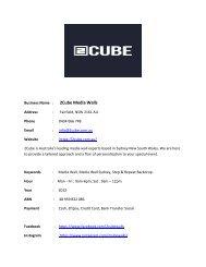 2Cube Media Walls
