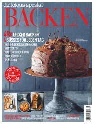 delicious.spezial 'BACKEN'