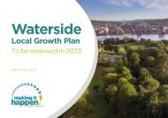 Waterside - Local Growth Plan-