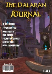 The Dalaran Journal, Issue 2 - October 2019
