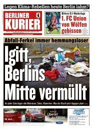 Berliner Kurier 07.10.2019