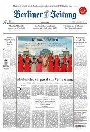 Berliner Zeitung 07.10.2019