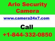 How to fix Arlo Camera And Arlo Base Station offline Issue? +1-844-332-0850 Arlo Pro Login