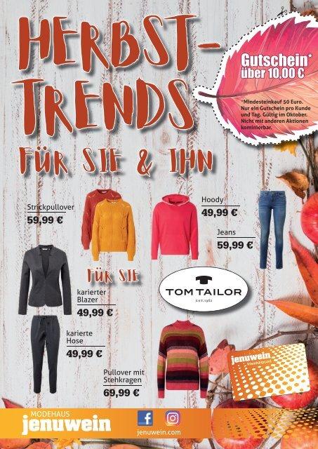 Modehaus Jenuwein - Herbsttrends