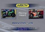 Arrow - nuovi prodotti Ottobre 2019