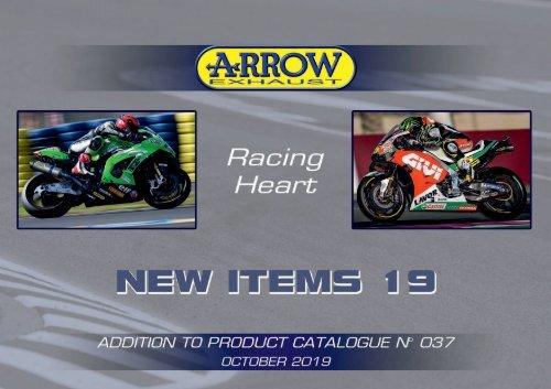 Arrow - New items October 2019
