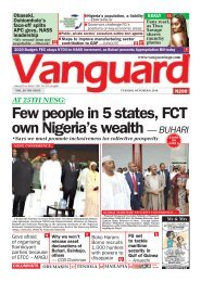 08102019 - Few people in 5 states, FCT own Nigeria's wealth — BUHARI