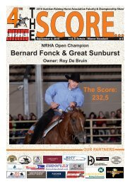 Final Limited Open - 3 Year Old Horses - Western Star