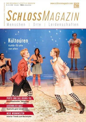 SchlossMagazin Oktober 2019 Bayerisch-Schwaben und Fünfseenland2