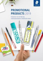 Promotional Products 2019 von STAEDTLER