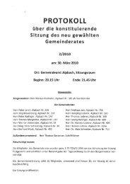Gemeinderatssitzung (204 KB) - .PDF - Alpbach