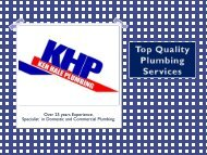 Know About Best Plumbing Services in Penrith - Ken Hale Plumbing