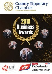 County Tipperary Business Awards 2019 Brochure