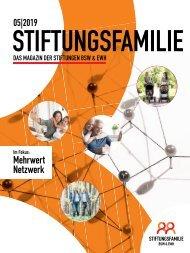Stiftungsfamilie - Ausgabe 05/2019
