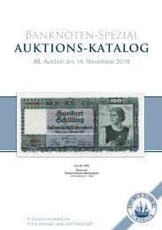 88. Auktion - Banknoten-Spezial - Emporium Hamburg