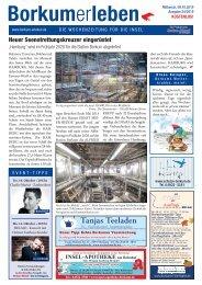 09.10.2019 / Borkumerleben - Die Wochenzeitung