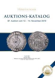 87. Auktion - Münzen & Medaillen - Emporium Hamburg
