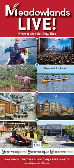 Meadowlands Live! | Visitors Guide 2019