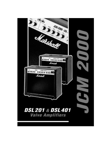 JCM 2000 - DSL 201 - reinmoser.com