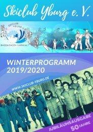 Winterprogramm 2019-2020