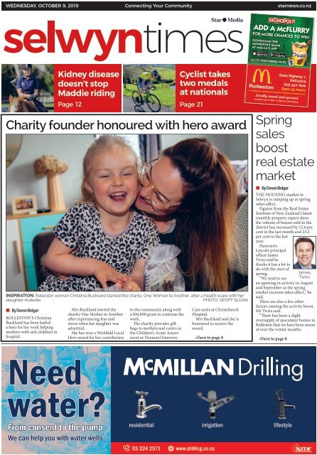 Selwyn Times: October 09, 2019