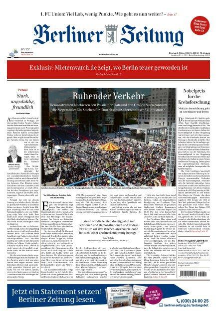 Berliner Zeitung 08.10.2019